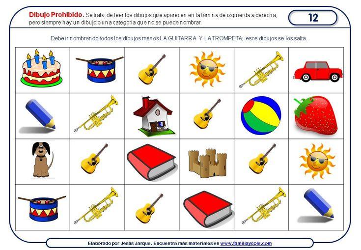 Paquete de fichas de atención para Educación Infantil, con actividades sin lápiz ni papel, que podrás descargar e imprimir sin complicaciones.
