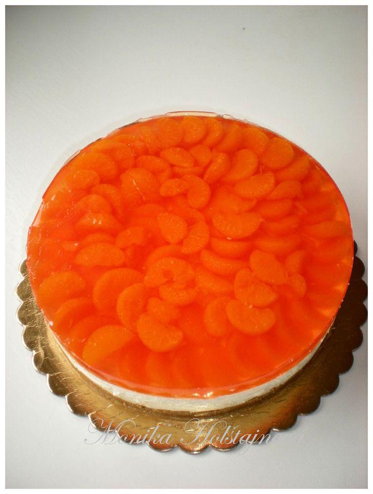 mandarinkový cheesecake