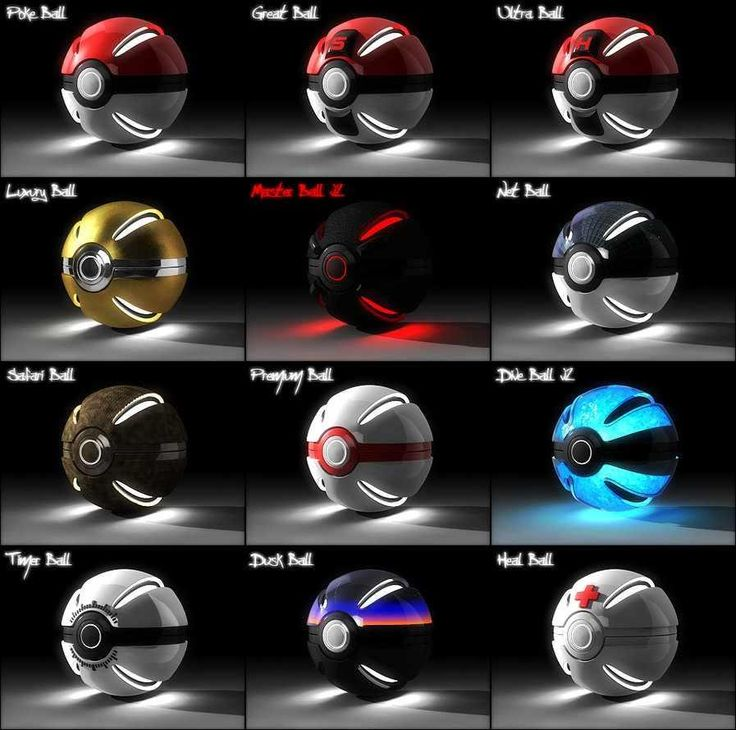 Pokeballs are awesome