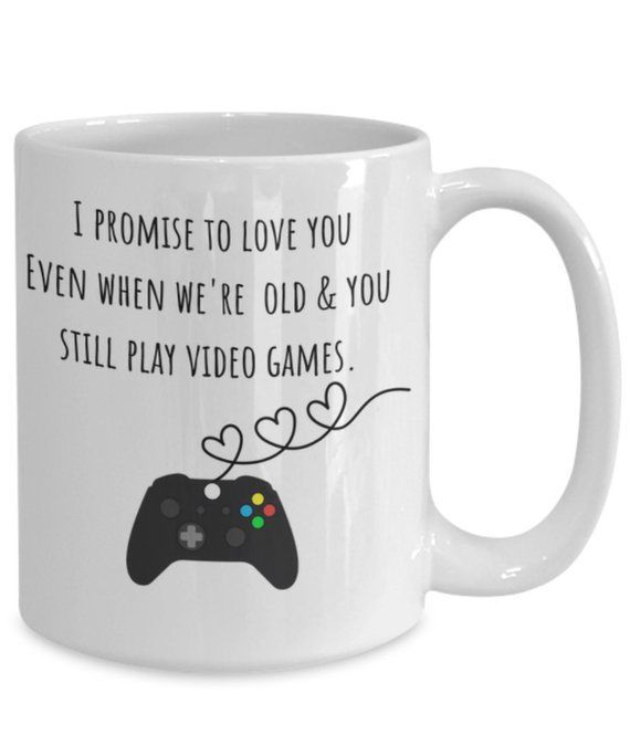 Funny Gamer Mug Friends Husband Gamer Gift Gamer Valentine Gift Anniversary Gift for Him Video