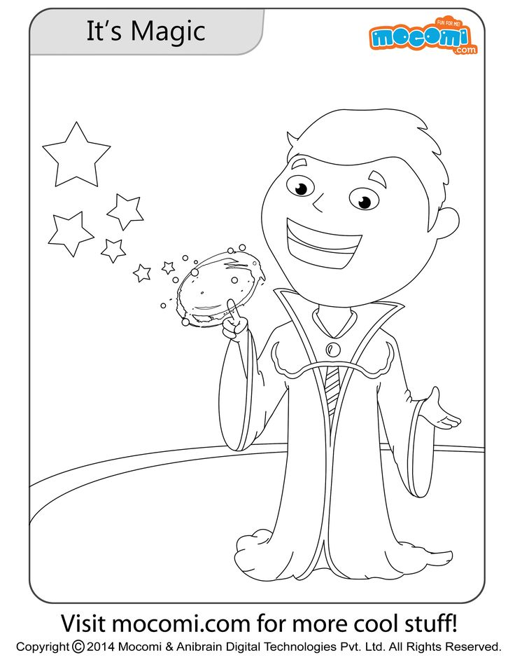 Jojo and Tricks Go Together Colouring Pages for Kids