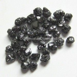 LOT OF 1.00 CT natural Black rough uncut loose diamond beads FOR NECKLACE THAT WILL MAKE YOU LOOK REALLY GORGEOUS at wholesale price.
