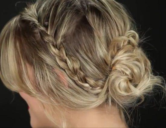 Penteado com trancinhas para você divar no #Carnaval <3 Vem ver como fazer vários outros penteados! #cabelo #beleza #hairstyle