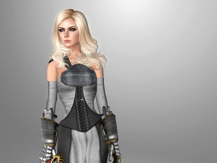 rezology Save the Queen (RIGGED mesh hair) (Gift)