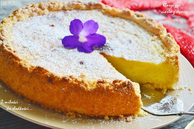 Z miłości do słodkości...: Klasyczne ciasto z dynią