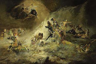 Paso del Mar Rojo- J.H. Hurres. Antiguo Testamento