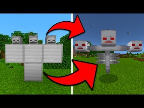 Minecraft Pe Secret How To Spawn The Wither Storm Youtube