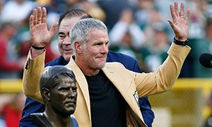 Three-time MVP Brett Favre joins the Packers' other Hall of Famers on Lambeau facade http://www.packers.com/news-and-events/article-daily-news-story/article-1/Brett-Favre-humbled-to-have-his-name-added-to-Lambeau-Field/ad9583cf-ad57-4623-9c8e-d60ad449fee6?campaign=sf39064302_TW_C-Content-GB_CT-Stories-GB_sf39064302#ixzz4NLu38dm4