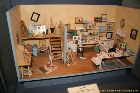 Musee des Miniatures et decors de cinema  - Maison des Avocats: Miniature Museum Lyon
