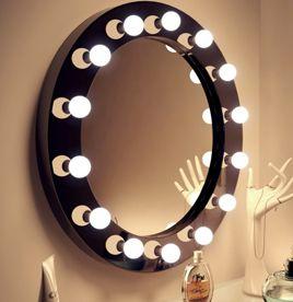 <b>Wall</b> Mounted <b>LED</b> | Mirror | Pinterest | Hollywood <b>makeup mirror</b> ...