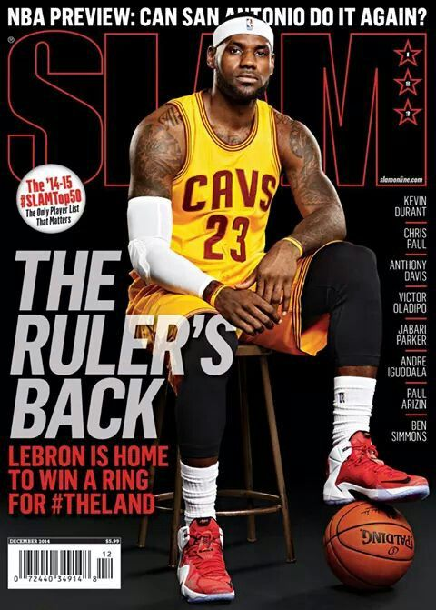 46 best Lebron James - Covers images on Pinterest | James d\'arcy ...