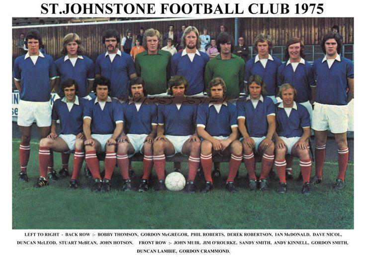 ST.JOHNSTONE F.C.TEAM PRINT 1975 (O'ROURKE / LAMBIE / KINNELL)   eBay