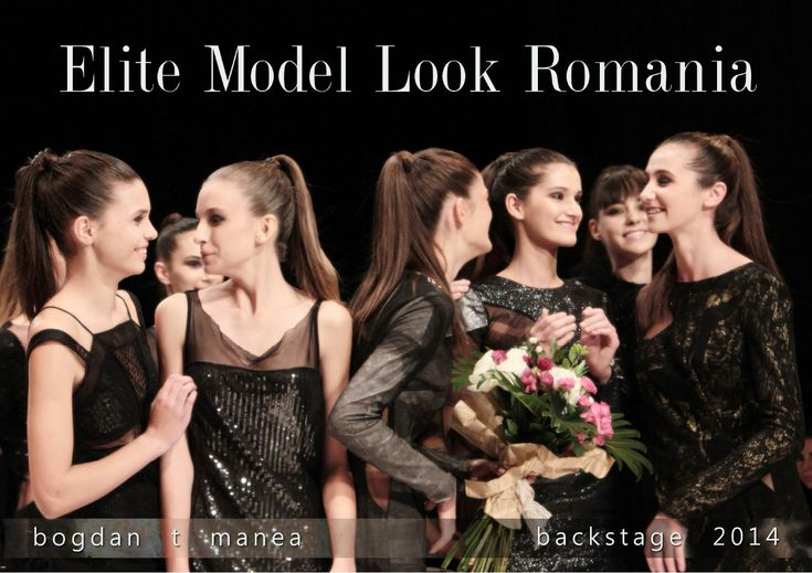 Elite Model Look Romania 2014, backstage