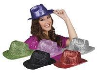 Simli Gangster Şapka, 6 farklı renk Parti Aksesuarları - Parti Şapkası/Taç Pırıltılı plastik şapka.  Yılbaşı partisi, doğum günü partileri için vazgeçilmez parti aksesuarı eğlenceyi arttırır ve parti fotoğraflarınızın daha eğlenceli çıkmasını sağlar.