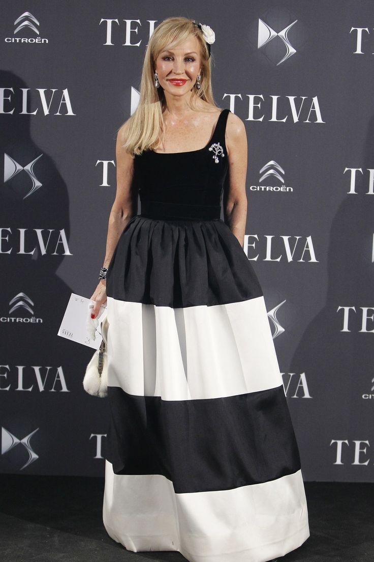 Carmen Lomana - Premios Telva 2013