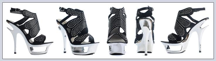 Mustat Remmikorkkarit - Black Gladiator Pumps