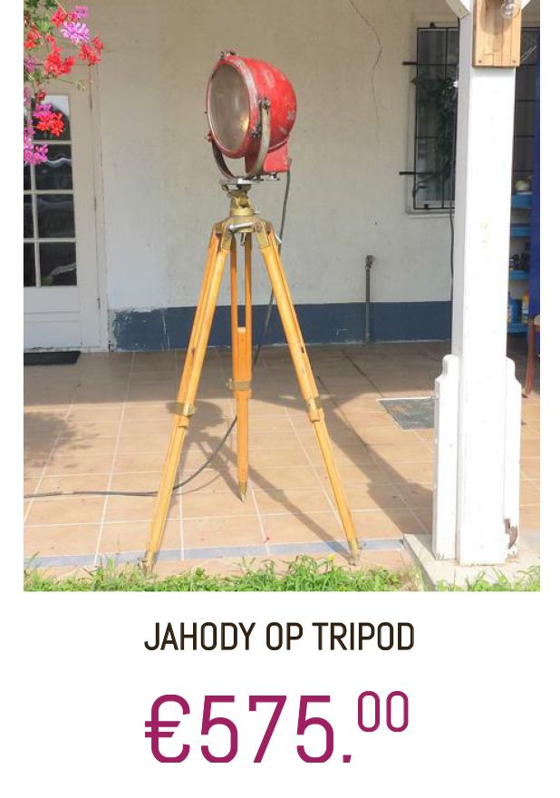 #Lamp #Vloerlamp #tripod #Jahody #Vintage