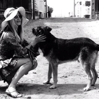 Brigitte Bardot in Buzios 1964.