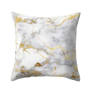 Texture marbre géométrique Throw Coussin Taie d'oreiller couverture Canapé Home Décor-FZH71026756E_1234