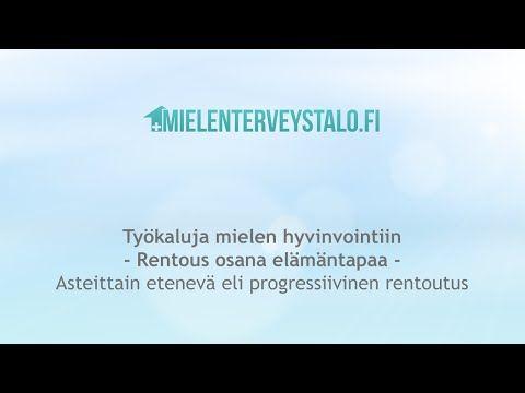 Harjoitus stressin ja jännityksen poistamiseksi - YouTube