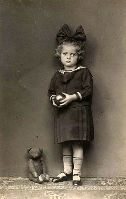 victorian girl in sailor dress