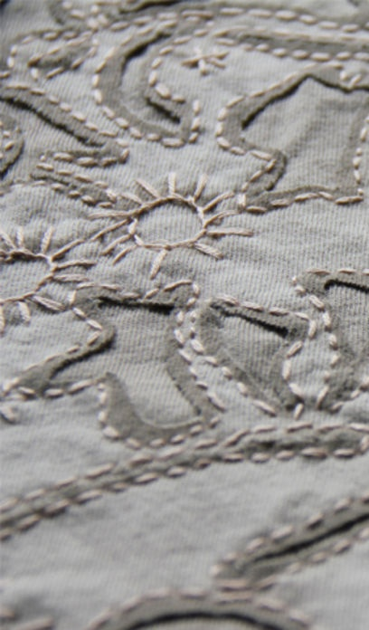 "Stitching shown on Alabama Chanin's ""Event"" page - http://alabamachanin.com/events#"