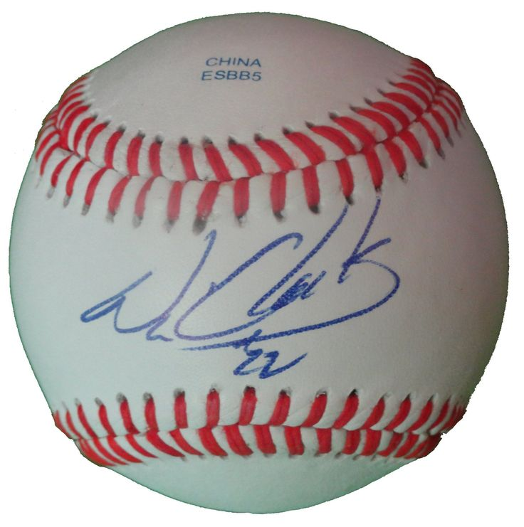 "Will Clark Autographed Rawlings ROLB1 Leather Baseball, Proof Photo. Will ""The Thrill"" Clark Signed Rawlings Baseball, San Francisco Giants, Baltimore Orioles, Texas Rangers, St Louis Cardinals, Proof   This is a brand-new Will Clark autographed Rawlings official league leather baseball.  Will signed the baseball in blue ball point pen. Check out the photo of Will signing for us. ** Proof photo is included for free with purchase. Please click on images to enlarge. Please browse our…"