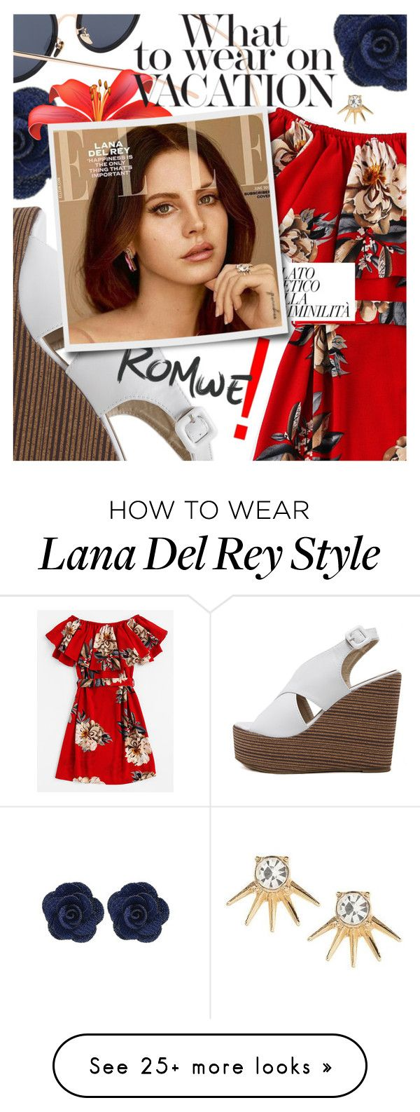 """""""Tropical Style featuring Romwe.com"""" by cultofsharon on Polyvore featuring Banana Republic"""