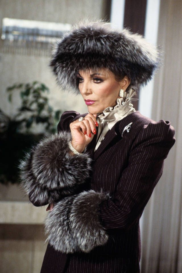 Iconic Wardrobes from Popular TV Shows: Alexis Colby, Dynasty