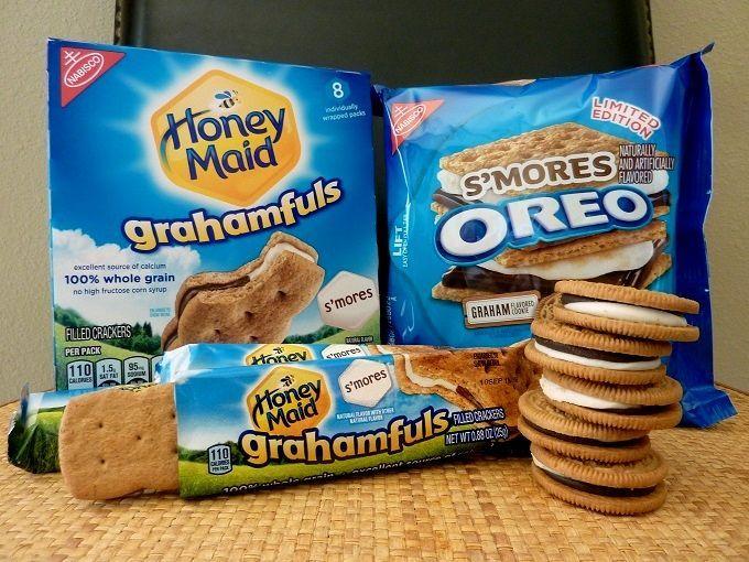 """アメリカの国民的お菓子「スモア」。Love american confectionery """"S'mores""""!"""