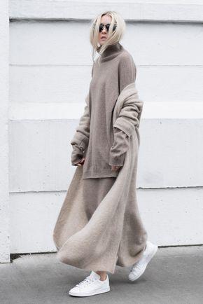 Omdat neutrale tinten nooit uit de mode, goochelt de fashionista graag met zwart, 50 tinten grijs en wit. Ook greige mag niet ontbreken. - Pagina 2 van 9