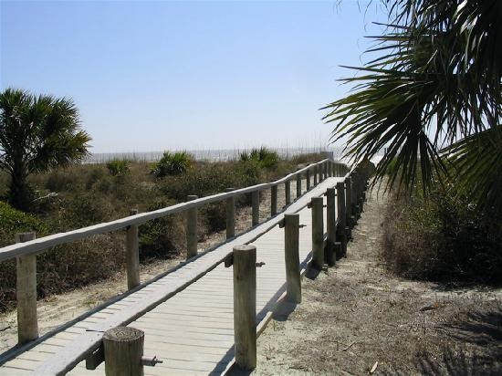 Hilton Head, SC - Dune walk to the beach