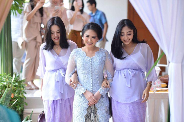 Maid of Honor 💜 Purple top by @divya.id