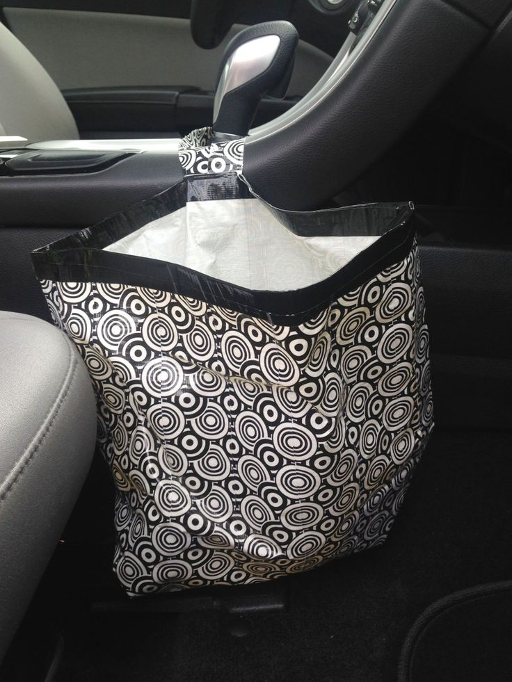 Duct Tape Craft: DIY Car Garbage Bag