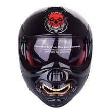 US $82.72 New Monster Face Modular Motorcycle Helmet Full Face Punk Motobike Motocicleta Cacapete Casco Casque Kask Moto Flip up Helmets. Aliexpress product