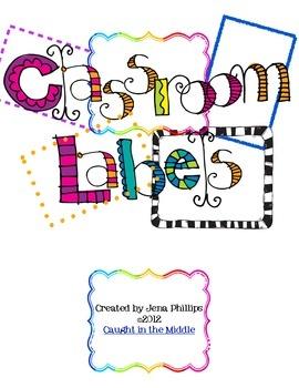 Fun Classroom LabelsClassroom Decor, Bright Classroom, Schools Ideas, Organic Classroom, Teaching Ideas, Fun Classroom, Classroom Labels, Classroom Ideas, Classroom Organic