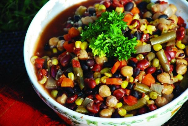 Quick Three-Bean Soup (The China Study Cookbook)