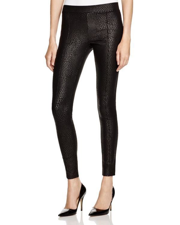 Hue Python Print Sleek Ponte Leggings