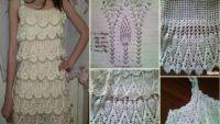 Örgü Elbise Modelleri Örnekleriyle Birlikte