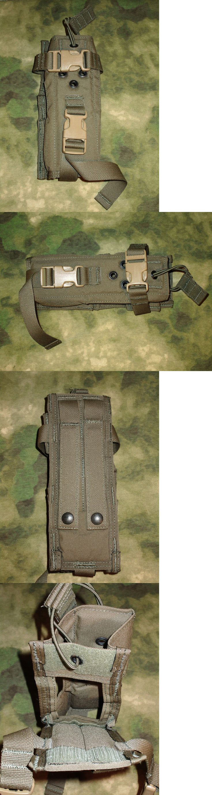 Tactical Molle Pouches 177900: Diamondback Tactical Molle / Pals ~~ 148Mbtr Radio Pouch ~~ Ranger Green BUY IT NOW ONLY: $32.0