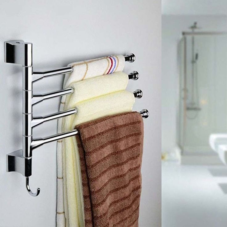 25 best ideas about bathroom towel bars on pinterest for Rack porte serviettes bain