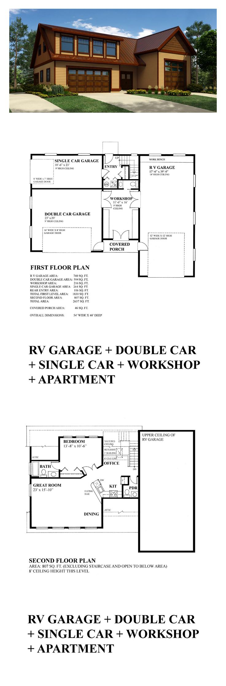 49 Best Images About Garage Apartment Plans On Pinterest