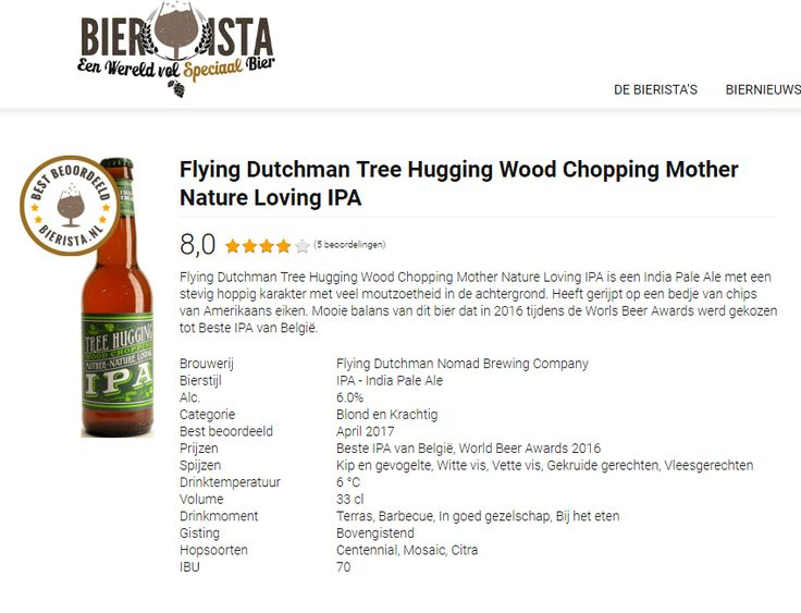 Top rating at Bierista in The Netherlands. #beer #craftbeer #TheFlyingDutchmanNomad