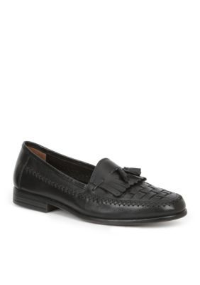 Giorgio Brutini Men's Monocle Tassle Slip-On - Black - 11.5M