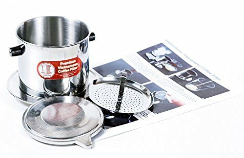 Vietnamese Coffee Filter Set. Also known as a Vietnamese Coffee Maker or Press 8oz, http://www.amazon.com/dp/B01953YT1I/ref=cm_sw_r_pi_awdm_x_lu2ZxbXKEJ8C6
