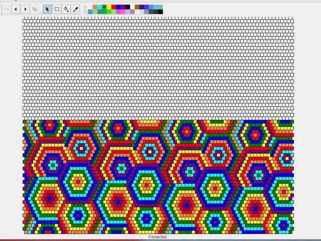 Разноцветные круга на 80-3