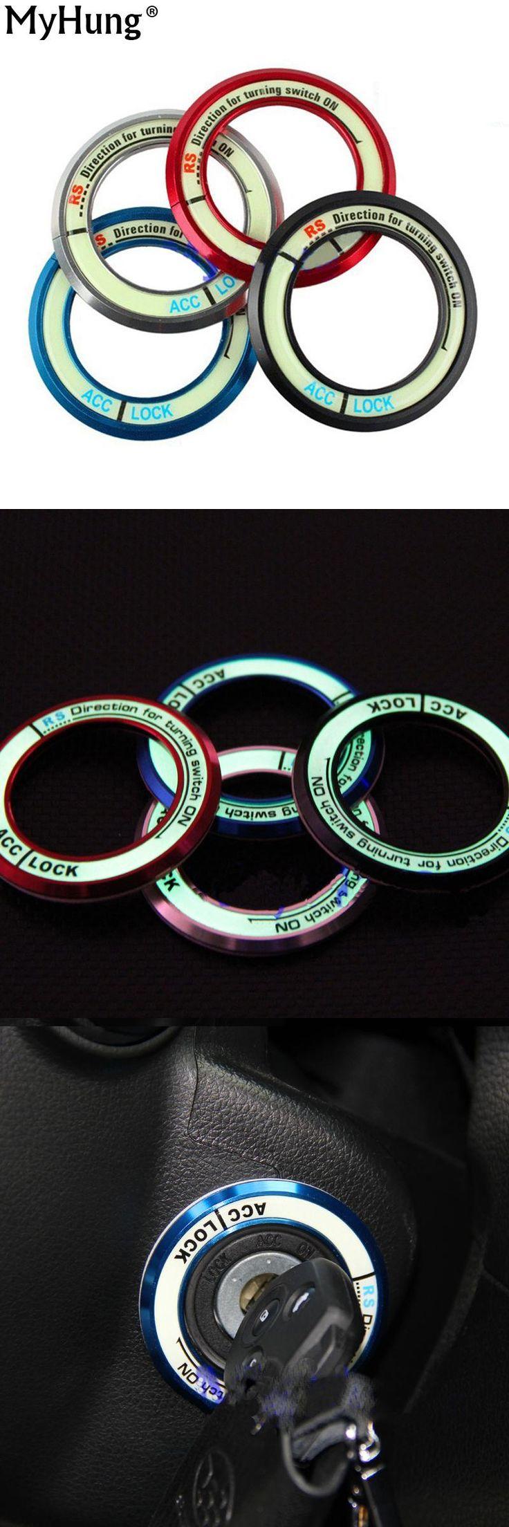 [Visit to Buy] Car Ignition Key Ring Sticker Luminous Car Sticker For Subaru Forester Outback Xv For Honda Crv KIA Sportage  K3 K5 Sorento Ix35 #Advertisement