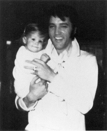 Elvis with Lisa Marie (she's so adorable, and, so is He!!!)