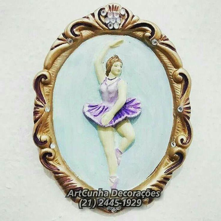 1° de Setembro, Dia da (o) Bailarina (o).  ArtCunha Decorações  Est. Bandeirantes, 829, Taquara, Rio de Janeiro, RJ. Tel: (21) 2445-1929 / 98558-3595  #bailarina #bailarinas #bailarino #bailarinos #ballet #balé #bale #balet #dança #sapatilha #auladedança #escoladedança #studio #plié #diadobailarino #diadabailarina #bailar #theatromunicipal #teatromunicipal #corpodebaile #corpo #quadro #artesanato #gesso #boatarde #euquero #021rio #jornaloglobo #jornalodia #vejario