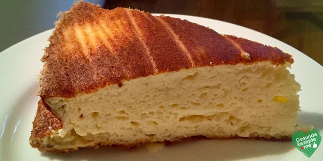 Low carb Käsekuchen